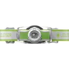 Ledlenser MH3 Linterna frontal, verde